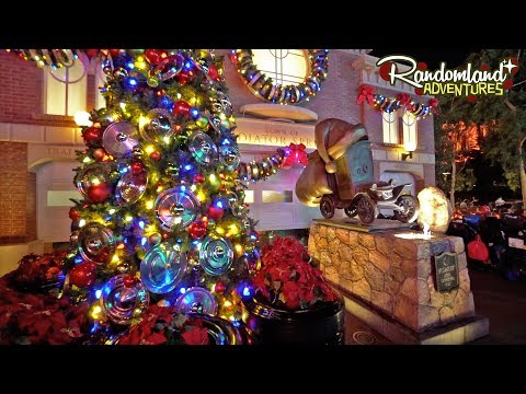 Christmas at DCA! Festival of Holidays at Disneyland Resort!