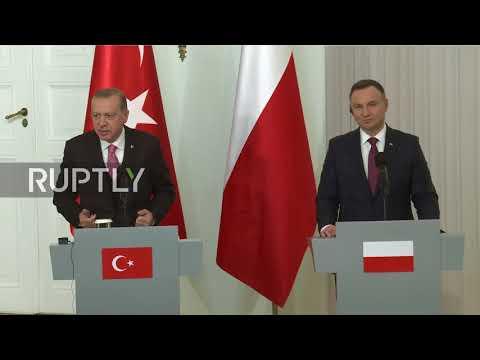 Poland: Erdogan demands 'clear declaration' that Turkey cannot join EU
