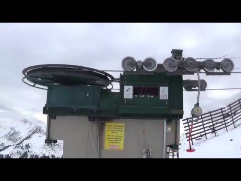Saas fee ski area 2016
