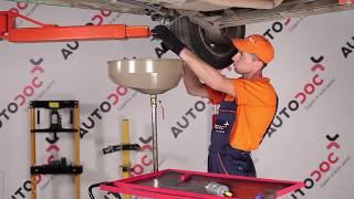 Como substituir a Filtro de combustível no OPEL CORSA B [TUTORIAL]