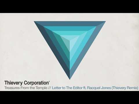 Thievery Corporation - Letter to The Editor (Thievery Remix) [Official Audio]