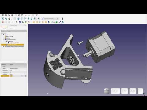 FreeCAD – Exploded Assembly + Hidden FreeCAD Gem