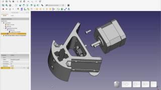 FreeCAD - Exploded Assembly + Hidden FreeCAD Gem