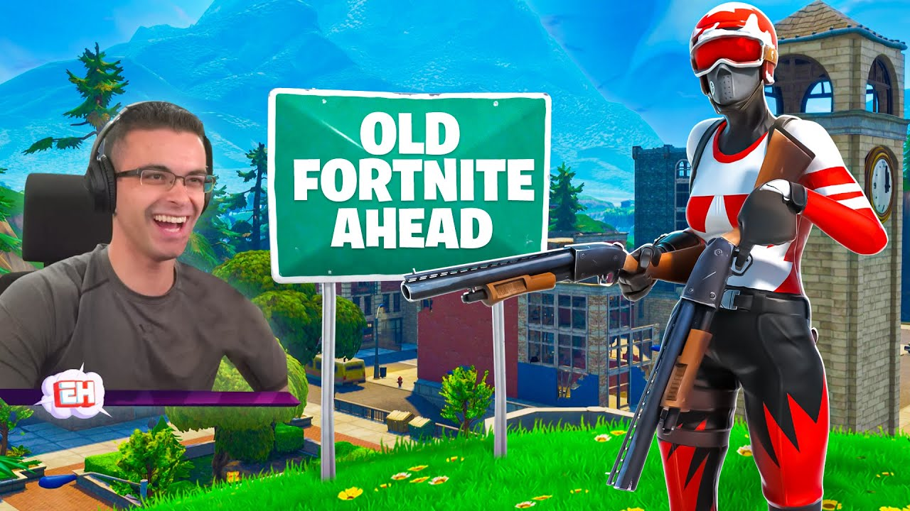 Reacting to the BIGGEST UPDATES in Fortnite history!