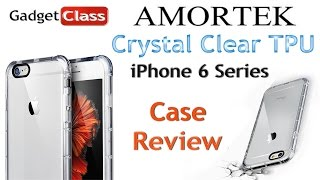 (:Review:) Amortek iPhone 6/6S/Plus Crystal Clear Silicone TPU Case w/Corner Bumpers