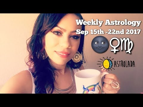 "Weekly Astrology Forecast for Sep 15th - 22nd & Celebrity ""Coffee Talk"" W/Astrologer April!"