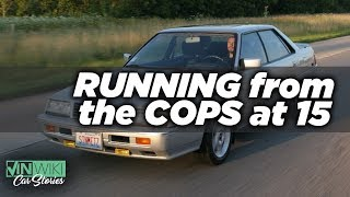 Running from the cops in my dad