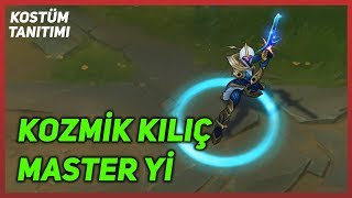 Cosmic Blade Master Yi (Skin Preview) League of Legends