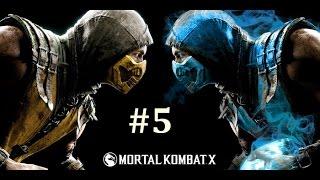 Mortal Kombat X - Bölüm 5 - GET OVER HERE! [Türkçe]