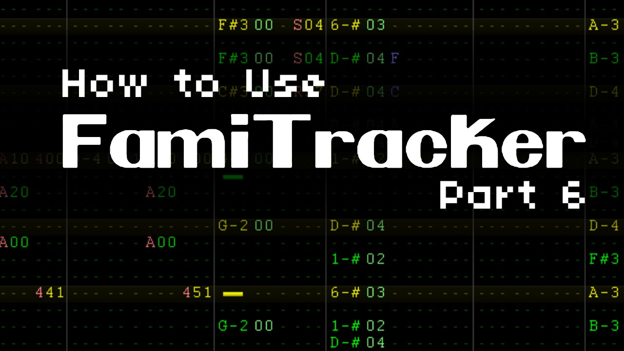 How To Use Famitracker (Part 6) - Instrument Juggling