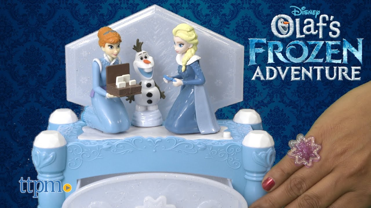 Disney Olafs Frozen Adventure Musical Jewelry Box from Jakks