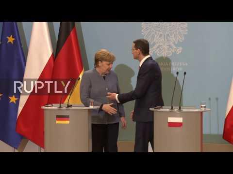 Poland: Morawiecki, Merkel push for 'common,' 'firm' EU response in Skripal case
