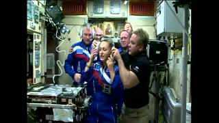 ISS Expedition 41 / 42 - Soyuz TMA-14M Hatch Opening and Other Activities