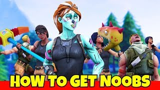 this is how you get into noob lobbies in fortnite... (so bad)