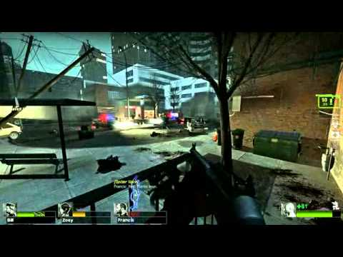 L4D2 SP Versus - No Mercy - The Sewers