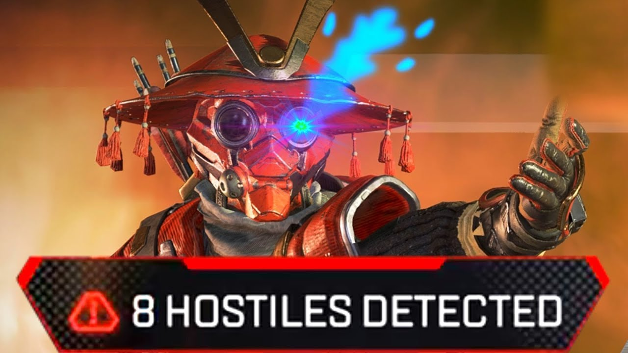 so they made bloodhound not useless anymore in apex legends
