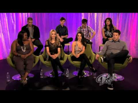 Glee cast Popeater interview part 2 from YouTube · Duration:  3 minutes 19 seconds