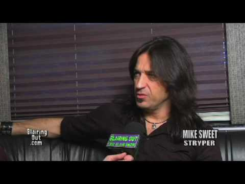 STRYPER's Michael Sweet talks to Eric Blair about accepting Jesus Christ part 1 of 3