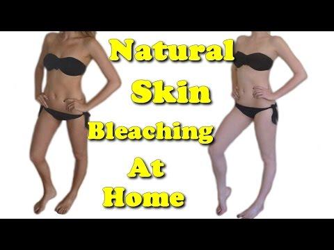natural skin bleaching at home