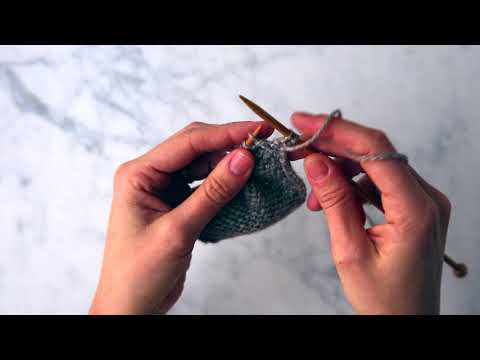 Make 1 Purlwise m1p Tutorial | Purl Soho