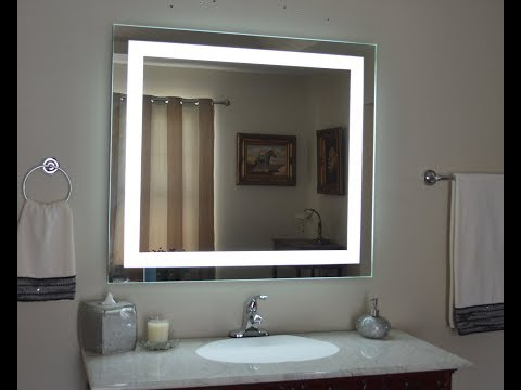Lighted Bathroom Vanity Mirror