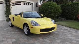 2001 Toyota MR2 Spyder Review and Test Drive by Bill - Auto Europa Naples