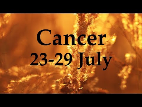 Cancer Weekly Tarot 23-29 July 2018 – Aquarian Insight
