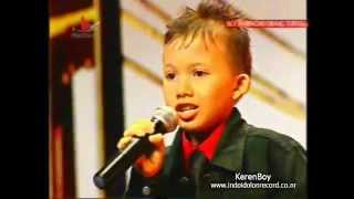 Josua Pangaribuan-When You Believe Audisi Indonesia's Got Talent 1