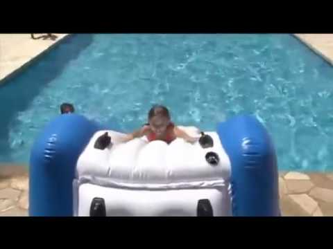Joyaux piscines maroc toboggan water slide intex youtube for Toboggan intex piscine