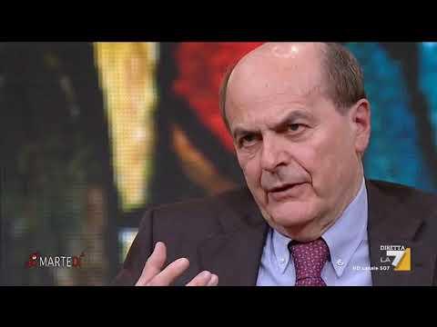 L'intervista a Pierluigi Bersani