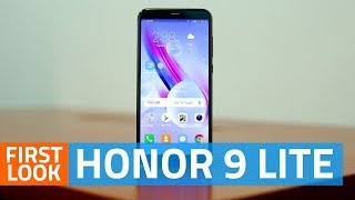 Honor 9 Lite First Look   Budget Smartphone With Four Cameras