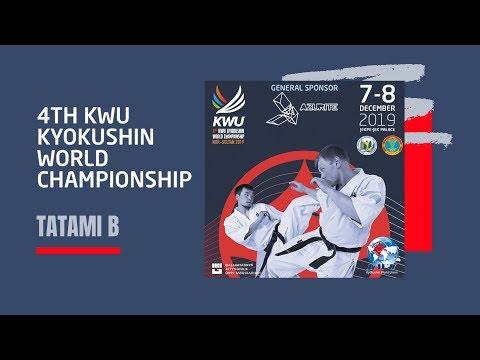 4TH KWU KYOKUSHIN WORLD CHAMPIONSHIP - 7 DEC 2019 / TATAMI B