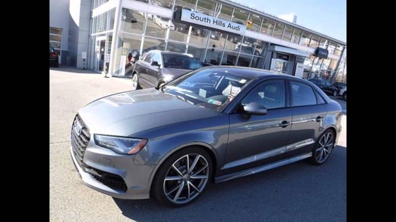 Audi S Monsoon Gray Metallic YouTube - South hills audi