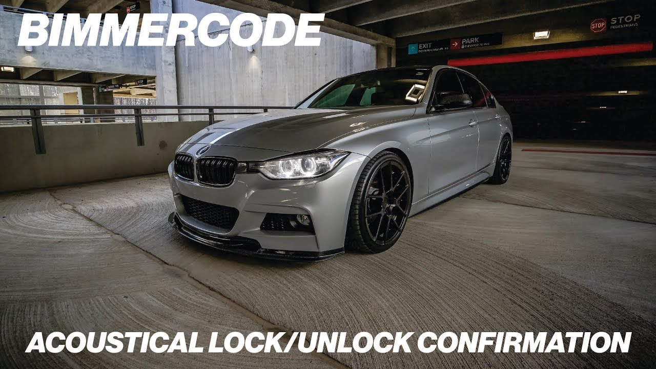 BIMMERCODE: ACOUSTICAL LOCK/UNLOCK CONFIRMATION (BEEPING)