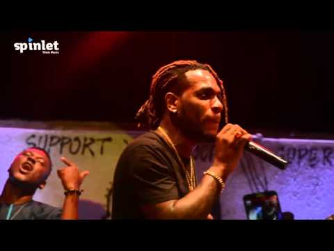 Burna Boy - Performs Soke and Run My Race (Spinlet sponsored Afropolitan Vibes Oct 2015)