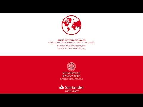 Becas Santander 2015 Usal