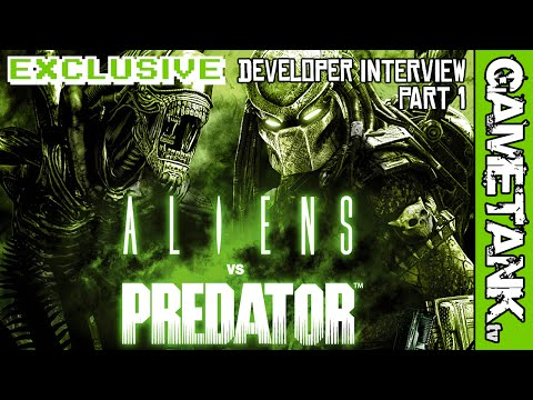 EXCLUSIVE Aliens Vs Predator Interview with Jason Kingsley at Rebellion Games PART 1 // GAMETANK