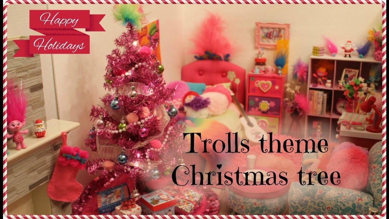 Trolls Theme Room With Trolls Christmas Tree American
