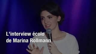 L'interview écolo de Marina Rollman