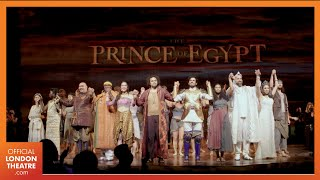 The Prince Of Egypt | West End Opening Night, Curtain Call & Speeches