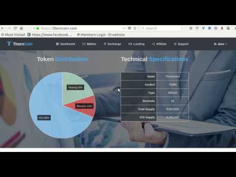 Brand new ICO(initial coin offering) Thorncoin review, time sensitive! be quick!