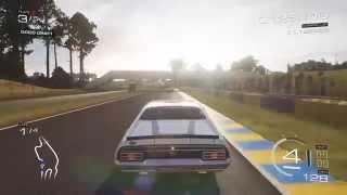 1973 Ford Falcon XB Raced In B Class at Le Mans Bugatti Circuit (Forza 5)