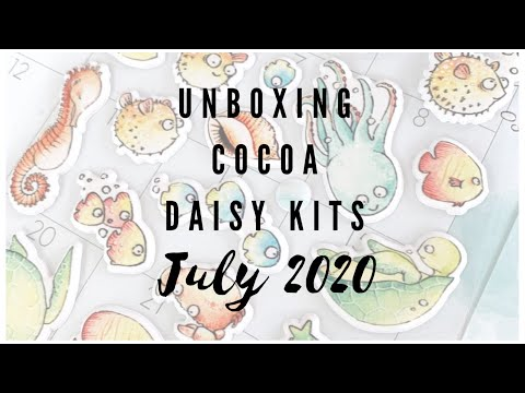 Cocoa Daisy Unboxing And How I Use The Printables