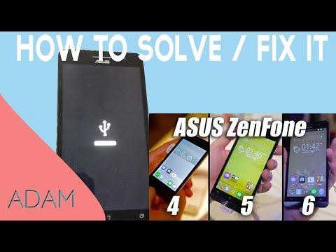 مشكلة-usb-لزين-فون-|-zenfone-unbrick-stuk-on-usb-logo