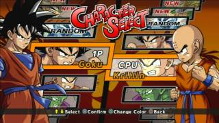 Dragonball Z Burst Limit Intro HD Plus gameplay (testing avermedia game capture HD)
