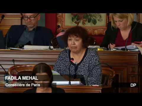 Fadila Mehal (DP) - Situation Porte de la Chapelle (XVIIIème )