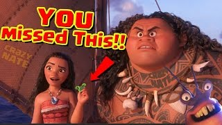 Disney's Moana Easter Eggs Everything You Missed. (proof)
