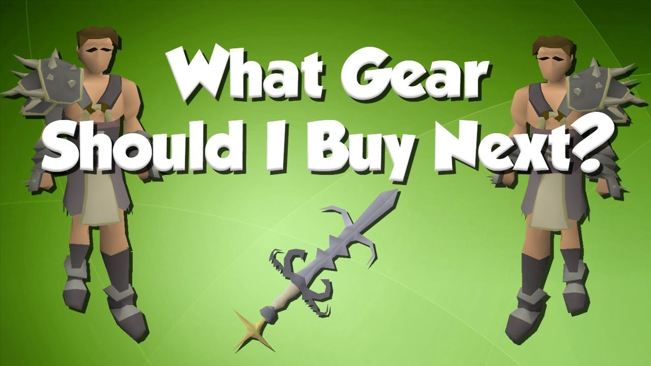 What Gear Should I Buy Next? | Melee [OSRS]