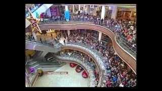 Mozgi на Партийной зоне МУЗ ТВ в Вегасе 5.10.14