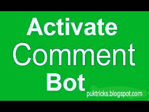 How to Active Facebook Bot Auto like and Comments